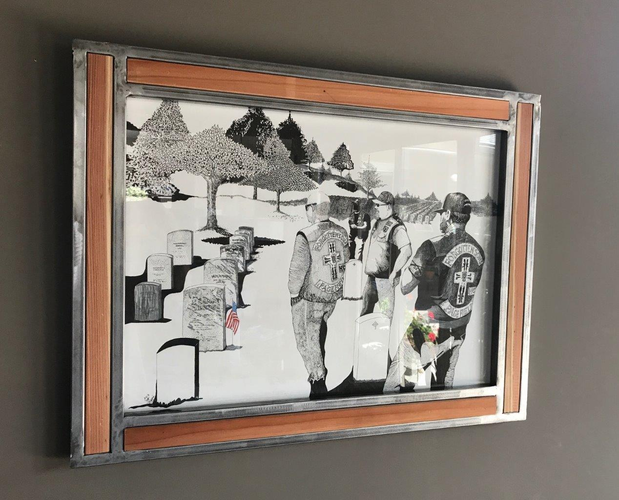 MC framed